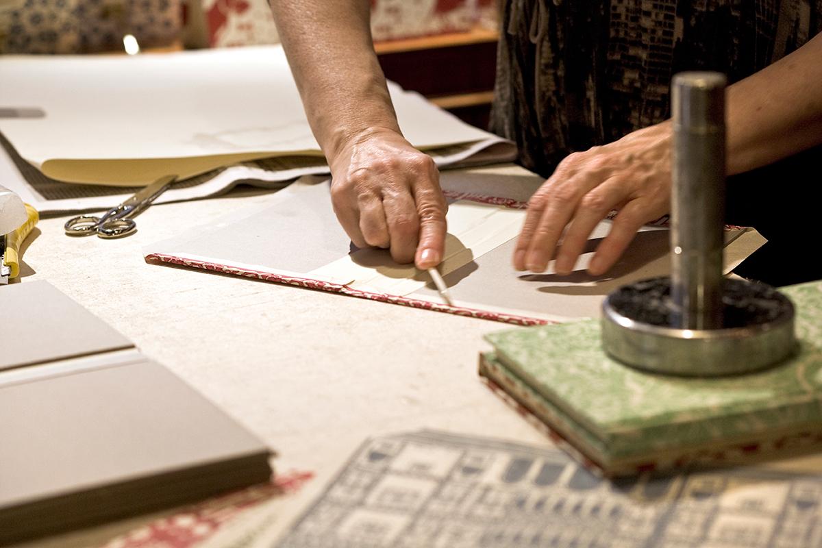 Handprinted paper