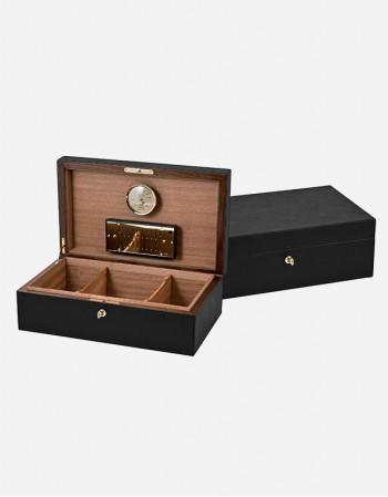 Leather Cigar Box - Made in Italy