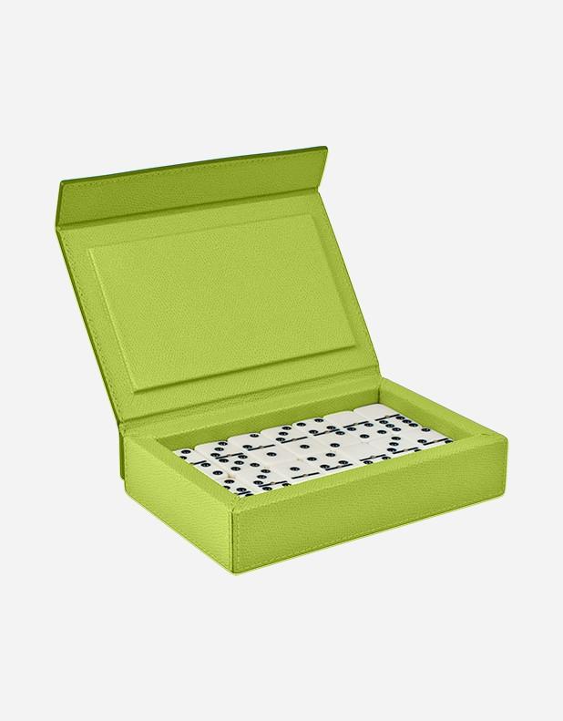 Scatola da Domino in Pelle - Prodotto in Italia