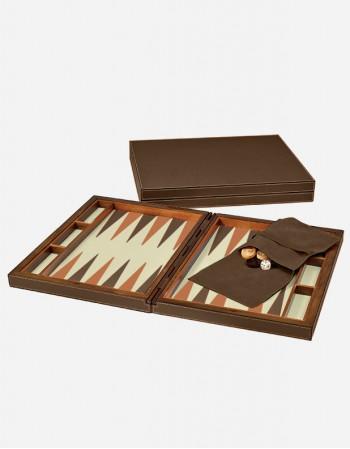 Scatola da Backgammon in Pelle - Prodotto in Italia - Giobagnara