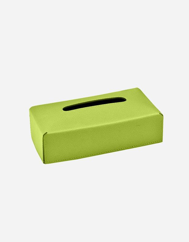 Portafazzoletti Rettangolare in Pelle - Prodotto in Italia
