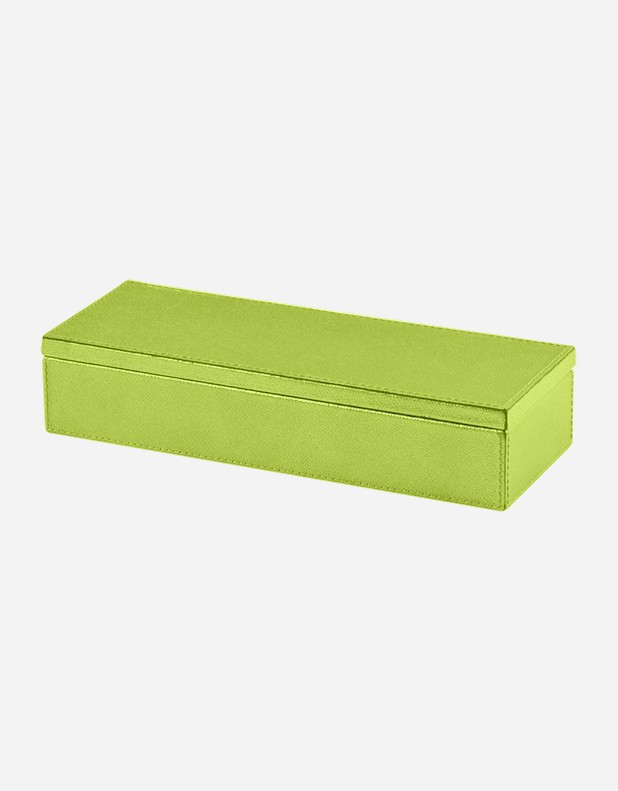 Leather Long Box - Made in Italy
