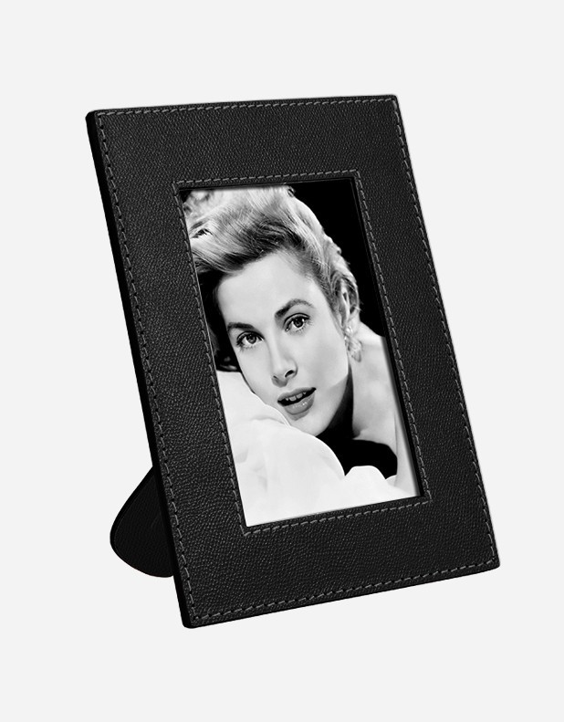 Leather Picture Frame Handmade In Italy Giobagnara
