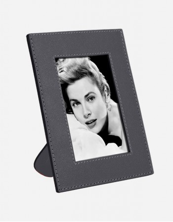 Leather Photo Frame - Made in Italy - Giobagnara