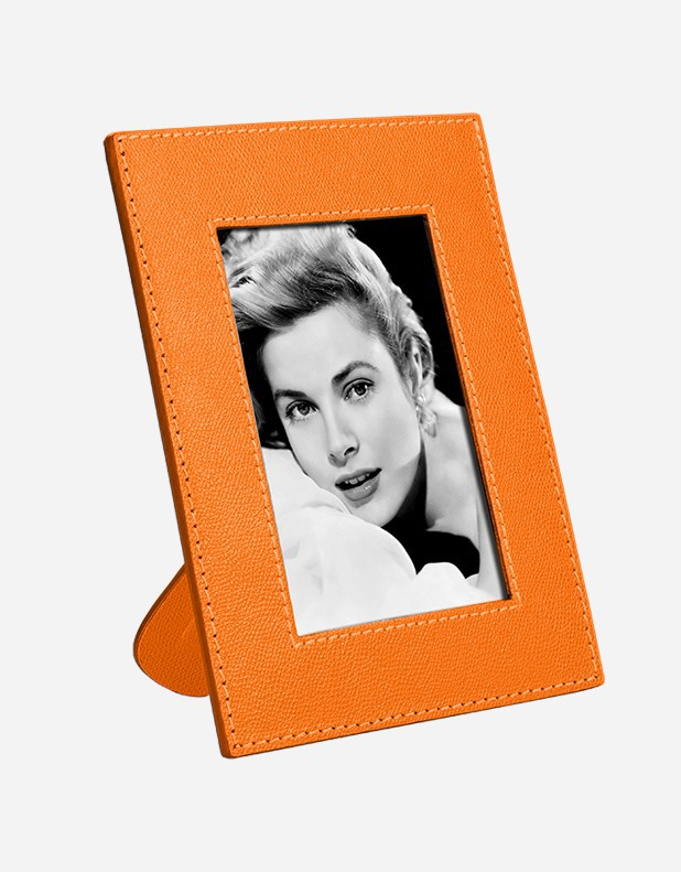 Leather Picture Frame - Made in Italy
