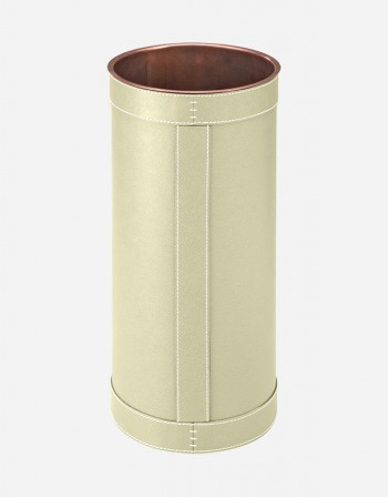 Leather Umbrella Stand - Made in Italy - Giobagnara