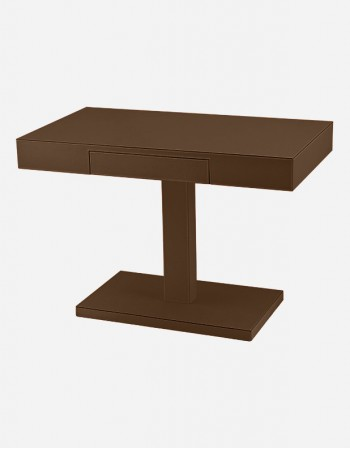 Leather Square Cofee Table - Made in Italy