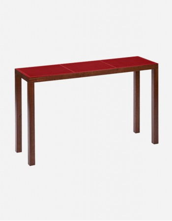 Leather Consolle Table - Made in Italy - Giobagnara