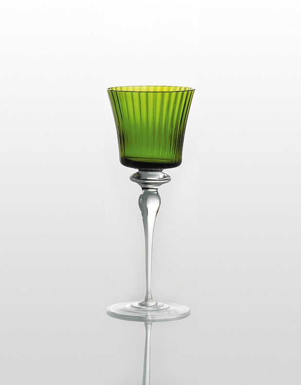 Royal Wine Glass - Murano Glass