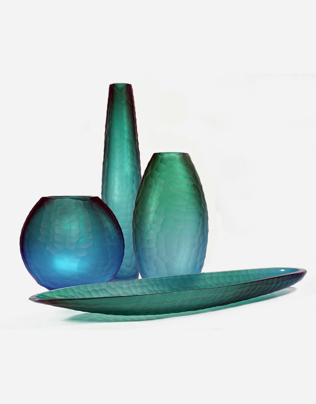 Sectet Down Collection - Murano Glass