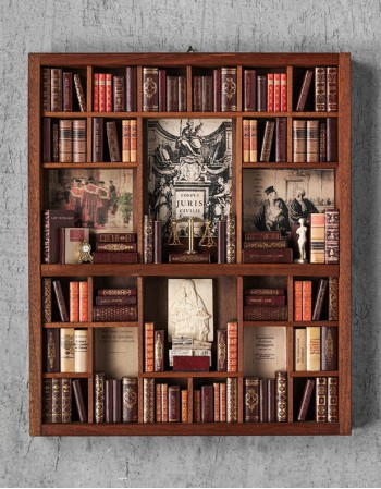 Law Theme - Miniature Library - Manuzio