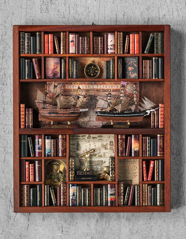 Sailing Theme - Miniature Library