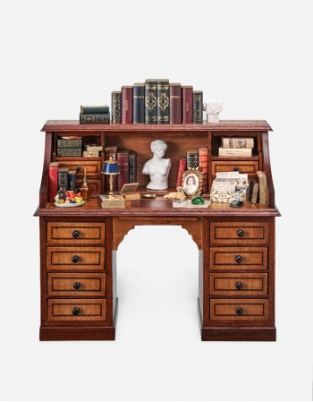 English Desk – Miniature Furniture - Manuzio