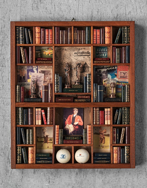 Golf Theme - Miniature Library