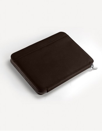 Leather Documents holder with Zip – Large - Giulio Secco
