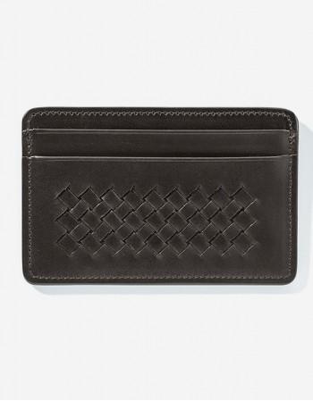 Porta Carte di credito in pelle - Giulio Secco
