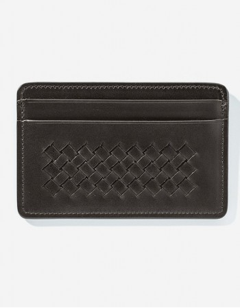 Small Leather Credit Card Holder - Giulio Secco