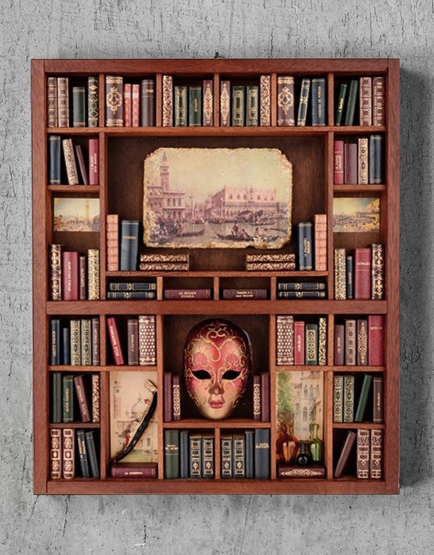 Venezia- Libreria in Miniatura
