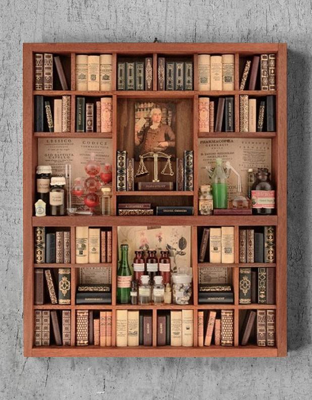 Pharmacy Theme - Library Miniature