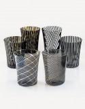 Canova - Six different patterns set - Murano Glass - NasonMoretti