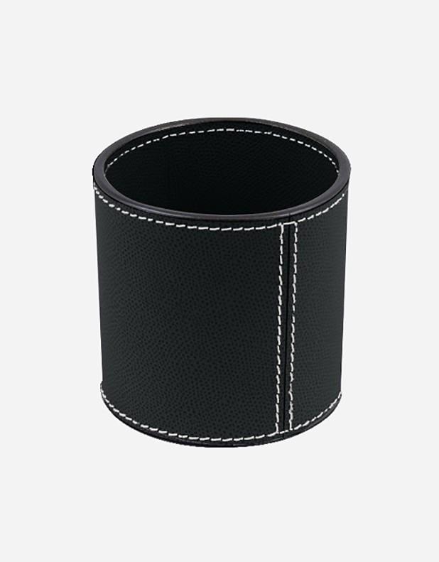 Leather Round Pen Holder