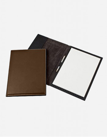 Leather Notepad Holder - Italian Production