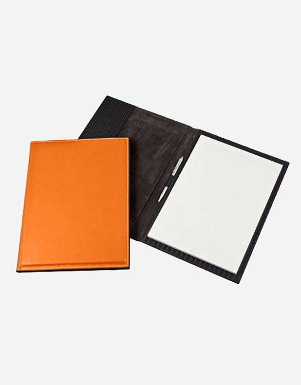 Leather Notepad Holder - Italian Production