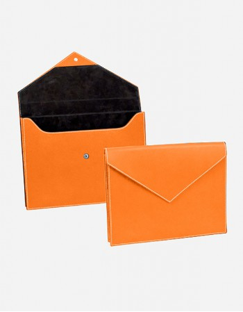 Leather Document Folder - Made in Italy - Giobagnara