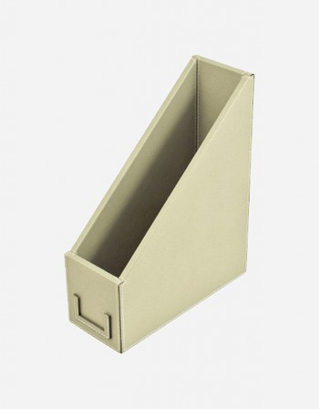 Leather File Holder - Made in Italy - Giobagnara