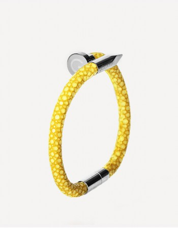 Clù Shagreen Bracelet - Made in Italy - Goliard