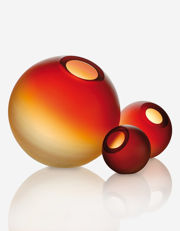 Vaso Marte - Vetro di Murano - Fornace Mian