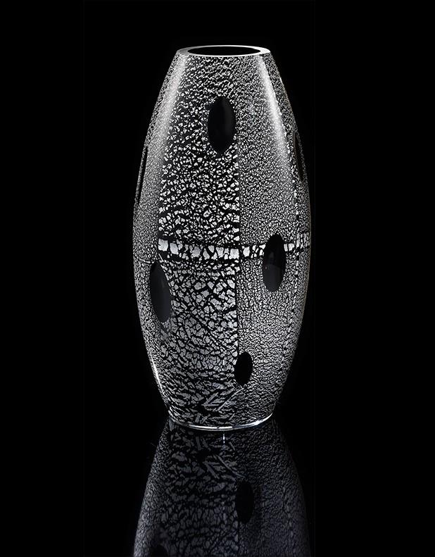 Vaso Iside - Vetro di Murano - Fornace Mian