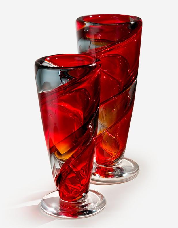 Twister Vase - Murano Glass - Fornace Mian