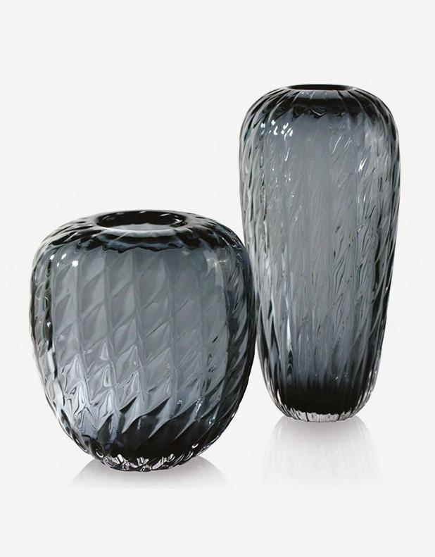 Vaso Treccia - Vetro di Murano - Fornace Mian
