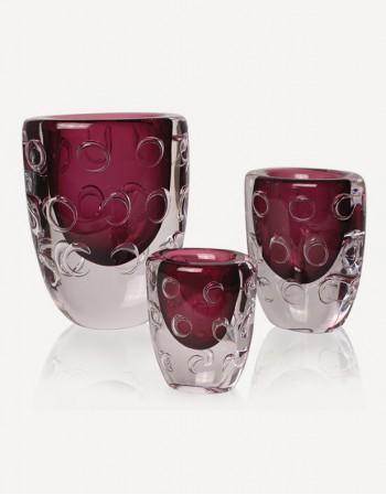 Impero Vase - Murano Glass - Fornace Mian