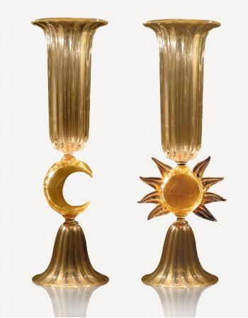 Sol & Luna - Vetro di Murano - Fornace Mian
