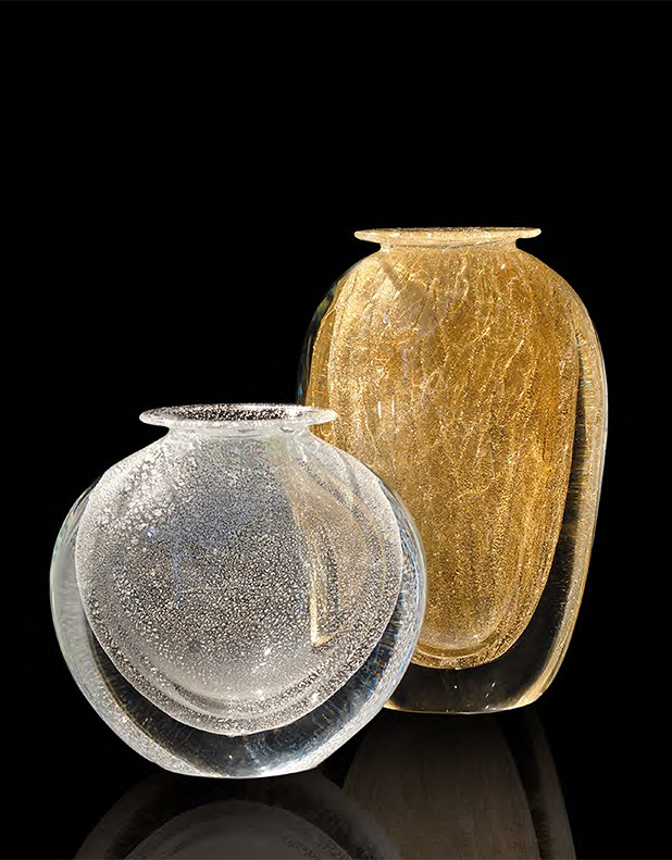 Aurum & Argentium - Vetro di Murano - Fornace Mian