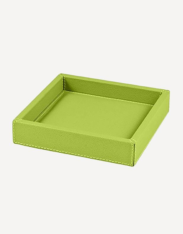 Svuotatasche Soft Quadrato in Pelle - Prodotto in Italia - Giobagnara