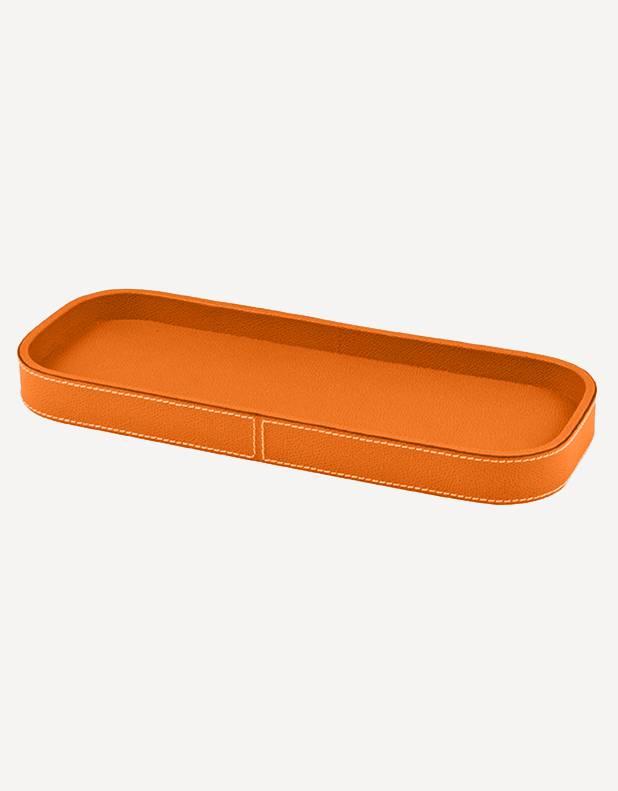 Leather Polo Valet Tray - Made in Italy - Giobagnara