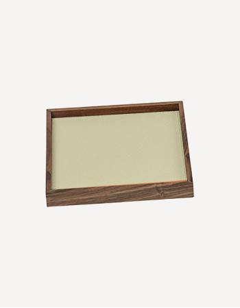 Phorma Leather Square Tray - Made in Italy - Giobagnara