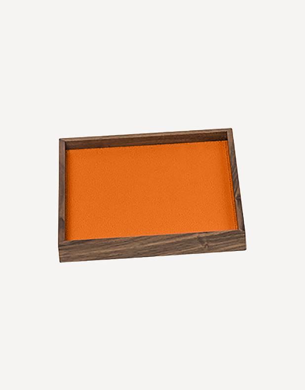 Phorma Leather Square Tray - Made in Italy - Giobagnara