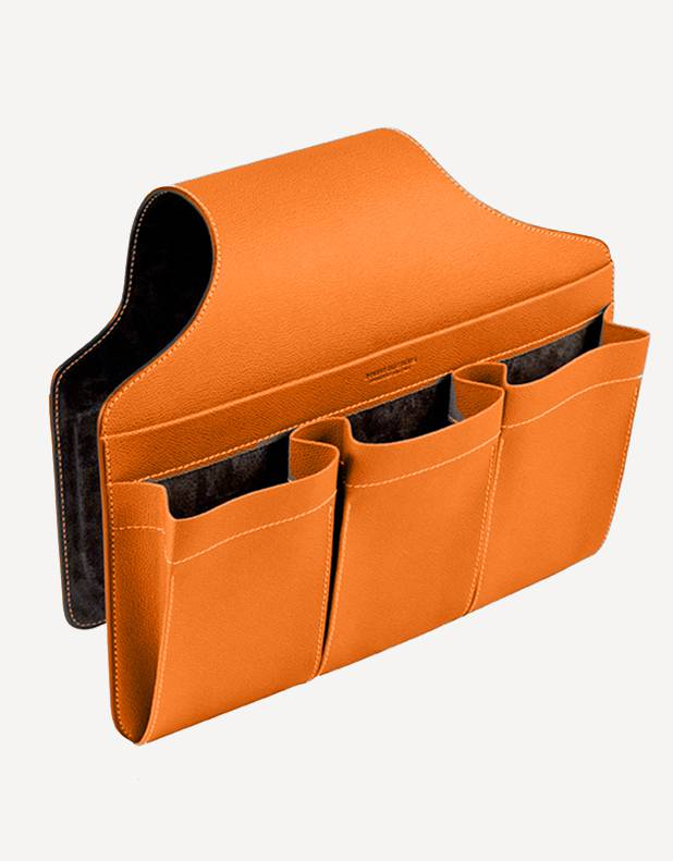 Leather Sofa Saddle Bag - Made in Italy - Giobagnara