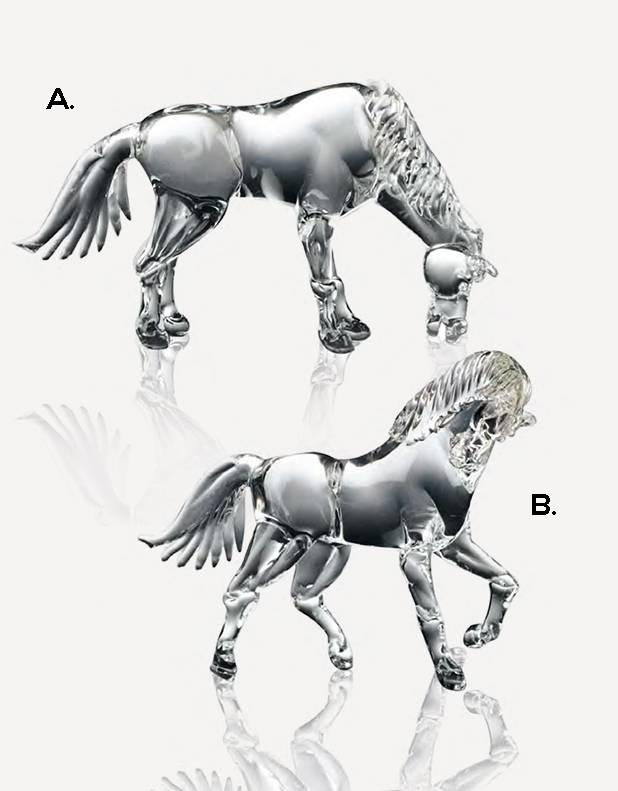 Equus - Murano Glass Art - Fornace Mian