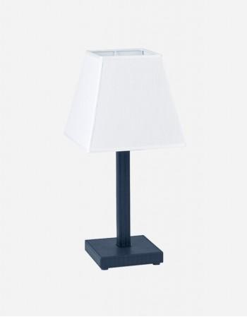 Lampada da Tavolino in Pelle - Prodotto in Italia - Giobagnara