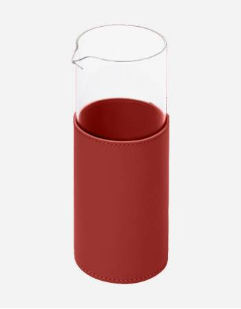 Trapani Glass Pitcher - Handmade in Italy - Rudi