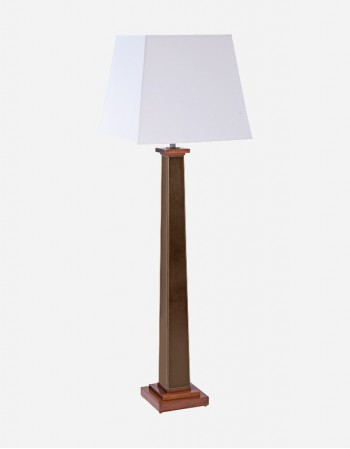 Leather Floor Lamp - Made in Italy