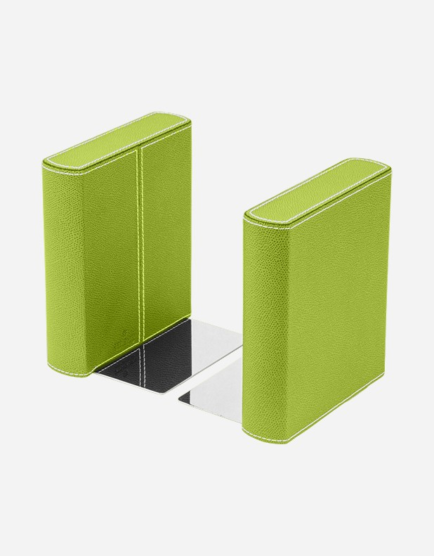 Leather Bookend - Made in Italy