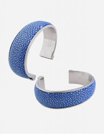 Shagreen Bracelet/2 cm - Made in Italy - Giobagnara