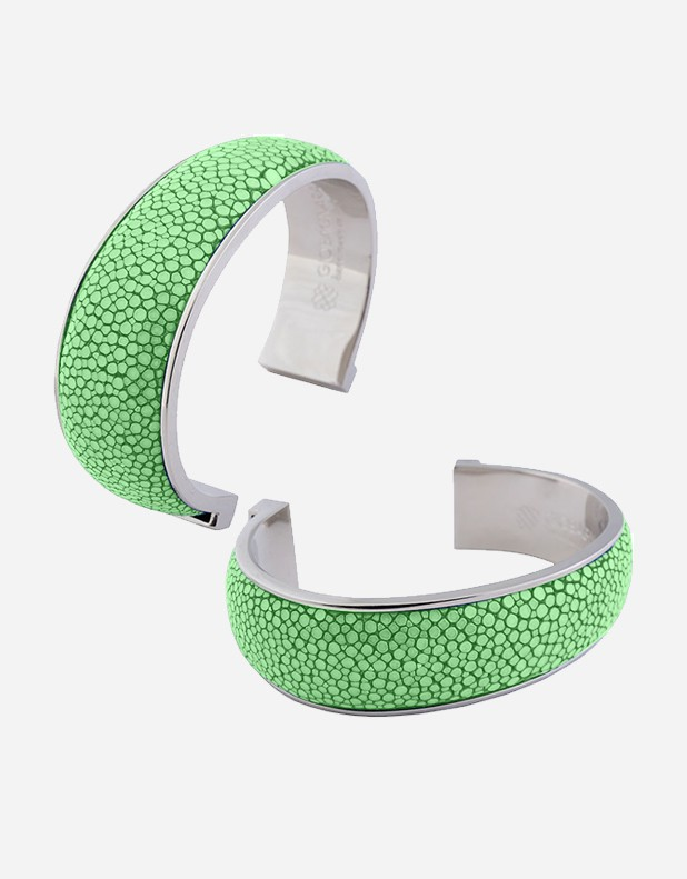 Shagreen Bracelet 2 cm - Made in Italy