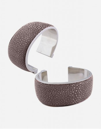Shagreen Bracelet/3 cm - Made in Italy - Giobagnara